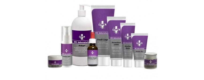 HFL Laboratories   Verzorgt en behandelt   MAZ Beautyland
